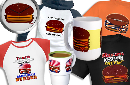 Apparel and MORE! - CafePress.com/VCheeseburger